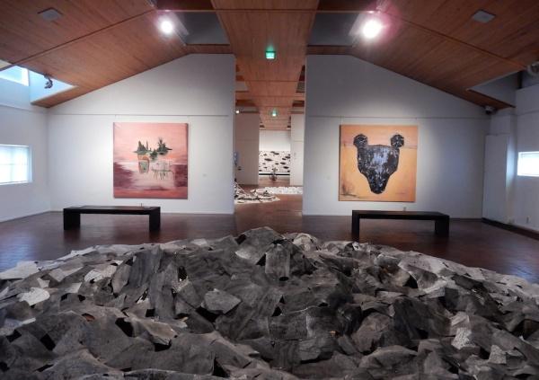 Helena JUNTTILA: Painting, MARUYAMA Tokio: Installation