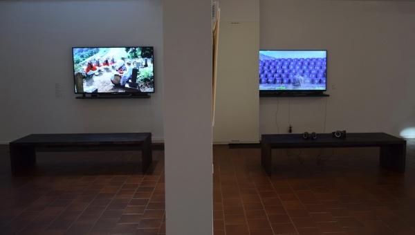 ISHIKURA Toshiaki: Video (left), Jukka TARKIAINEN: Video (right)